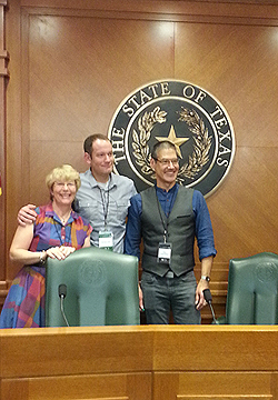 Texas Book Festival: Polly, Brandon Mull, Greg Leitich Smith